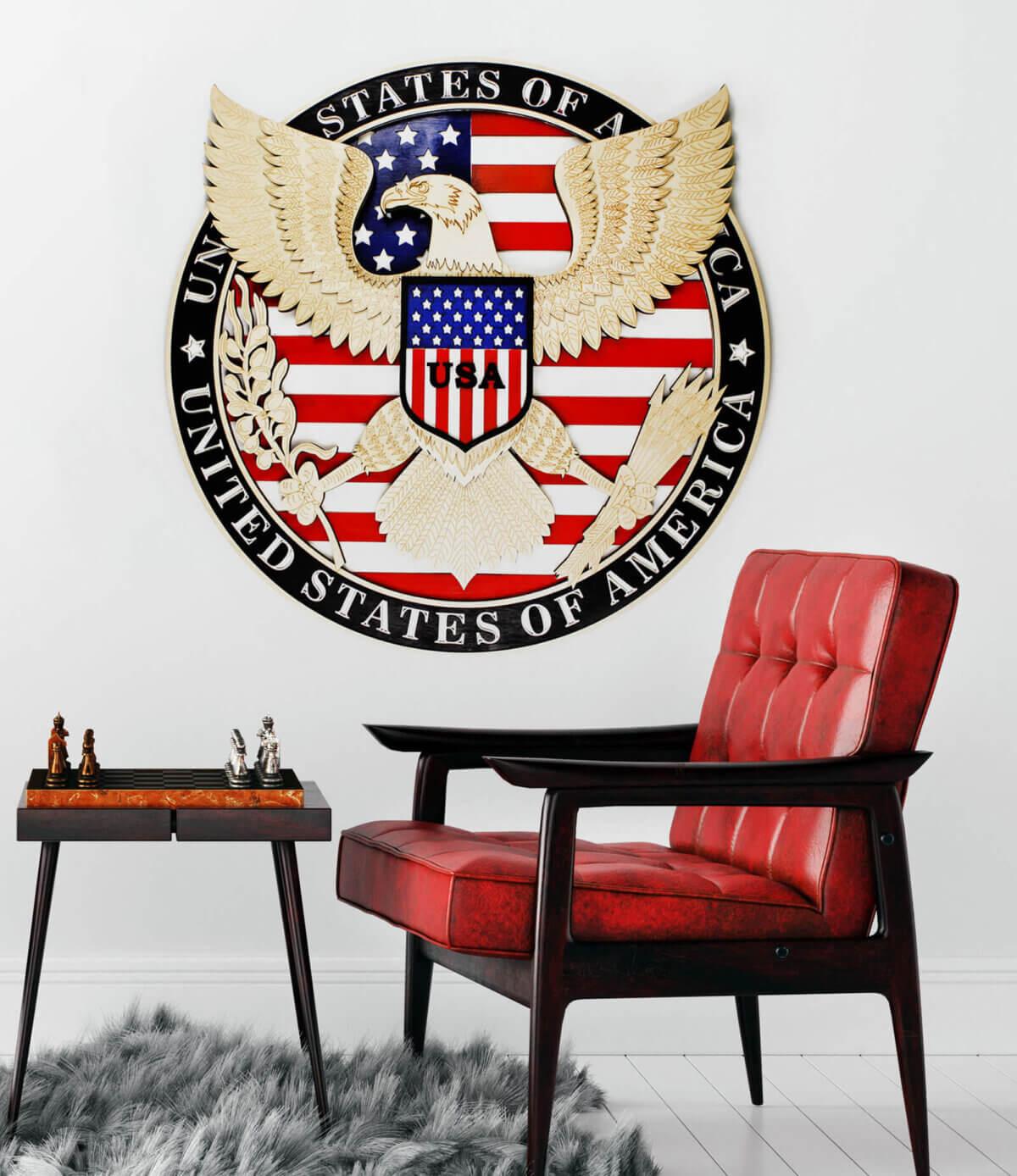 Símbolo del águila de EE.UU.