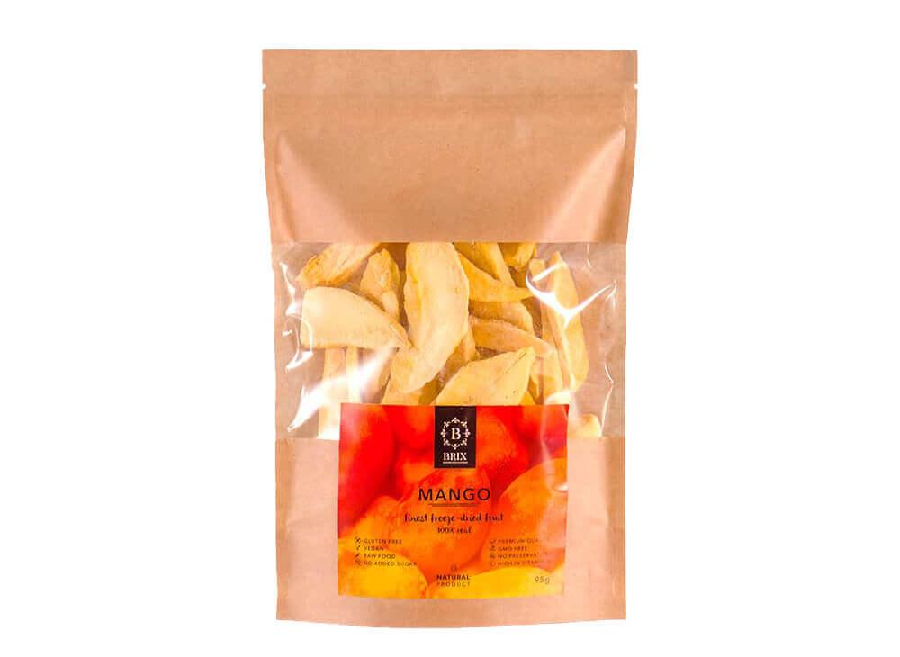 Brix Exotic Fruits Freeze Dried Mango 95g